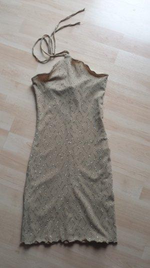 Kookai Kleid Gold mit Shimmer/ wie Neu