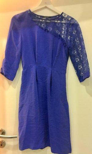 Kookai Kleid royalblau 100% Seide ungetragen