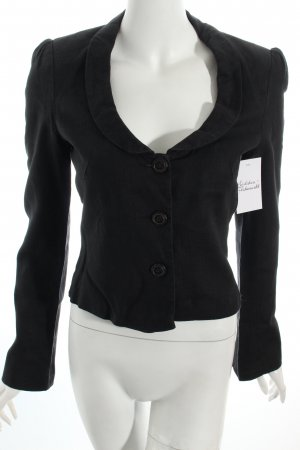 Kookai Kurz-Blazer schwarz Business-Look