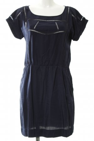 Kookai Kurzarmkleid dunkelblau Casual-Look