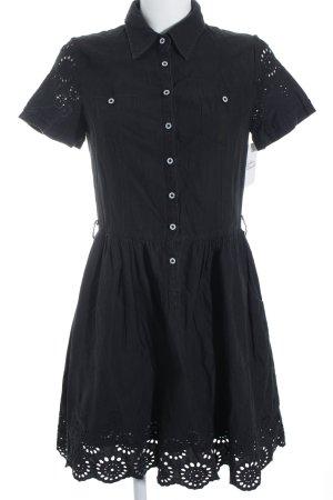 Kookai Kurzarmkleid schwarz klassischer Stil