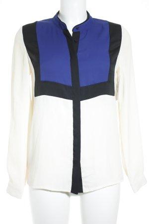 Kookai Langarm-Bluse Colourblocking klassischer Stil