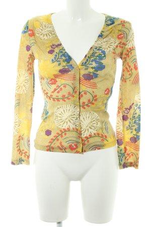 Kookai Langarm-Bluse florales Muster Casual-Look