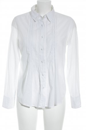 Kookai Blusa de manga larga blanco look casual