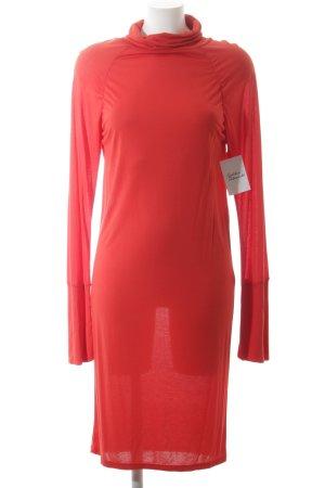 Kookai Langarmkleid rot schlichter Stil