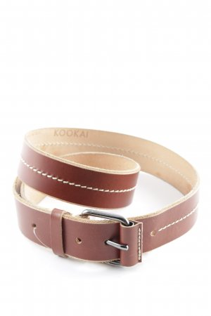 Kookai Leather Belt light brown casual look