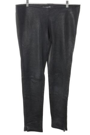 Kookai Leggings schwarz Glanz-Optik