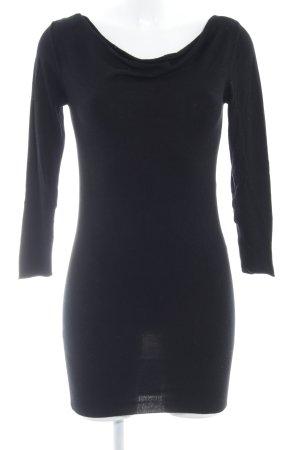 Kookai Jersey largo negro look casual