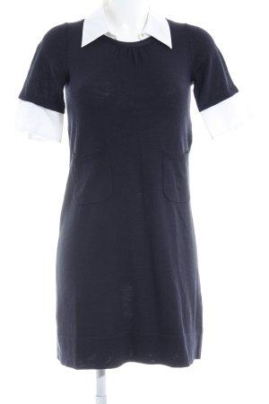 Kookai Jersey largo negro-blanco