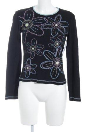 Kookai Longsleeve florales Muster Casual-Look