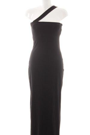 Kookai Maxikleid schwarz schlichter Stil
