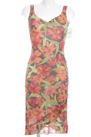 Kookai Vestido a media pierna estampado floral look casual