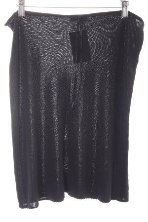 Kookai Falda midi negro estilo minimalista