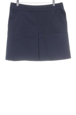 4c36c9473e50c9 Kookai Mini-jupe bleu foncé style simple
