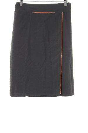 Kookai Minirock grau-neonorange sportlicher Stil