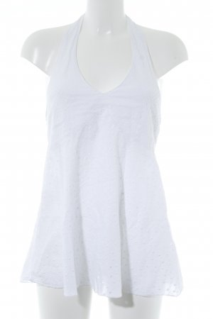 Kookai Top senza maniche bianco stile spiaggia
