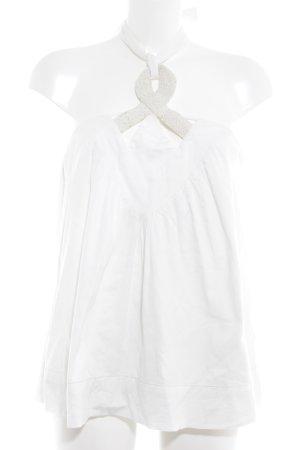 Kookai Top senza maniche bianco sporco Stile Boho