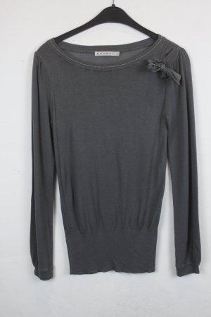 Kookai Jersey de punto gris tejido mezclado