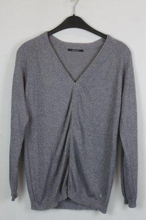 Kookai Pullover Strickpullover Gr. S / 38 silber grau (18/9/034)