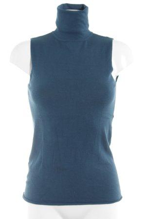 Kookai Colshirt cadet blauw simpele stijl