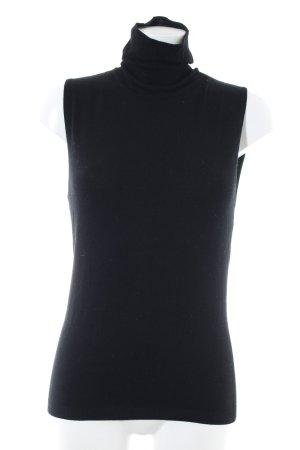 Kookai Neckholder Top black business style