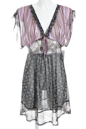 Kookai Seidenbluse Blumenmuster Street-Fashion-Look