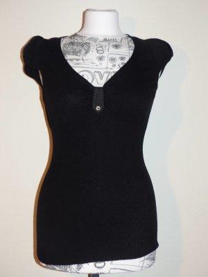 Kookai Shirt kurzam Strick, Größe 1