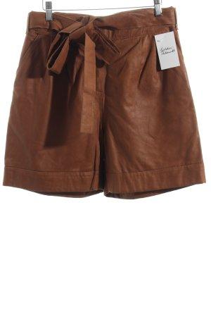Kookai Shorts cognac Boho-Look