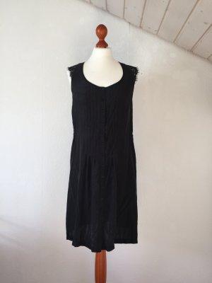 KOOKAI Sommerkleid 38 M Spitze Seide schwarz