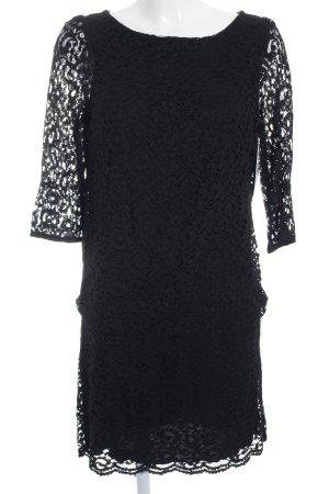 Kookai Spitzenkleid schwarz Elegant
