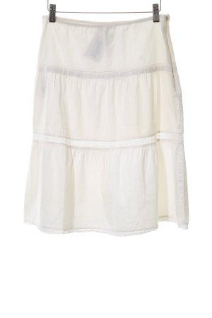 Kookai Falda de encaje beige claro estilo romántico