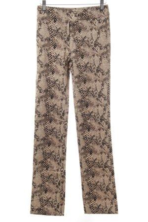 Kookai Pantalón tipo suéter estampado con diseño abstracto