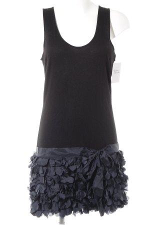 Kookai Stretchkleid schwarz-graublau extravaganter Stil
