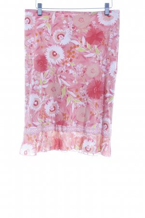 Kookai Stretchrock Blumenmuster Romantik-Look