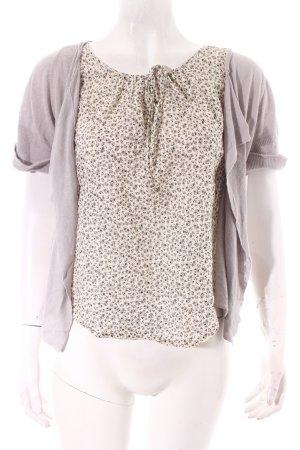 Kookai Strick Cardigan florales Muster Romantik-Look
