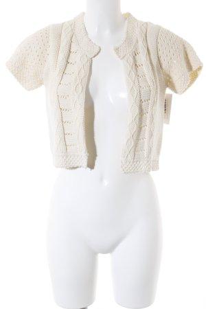 Kookai Torera de punto blanco puro look casual