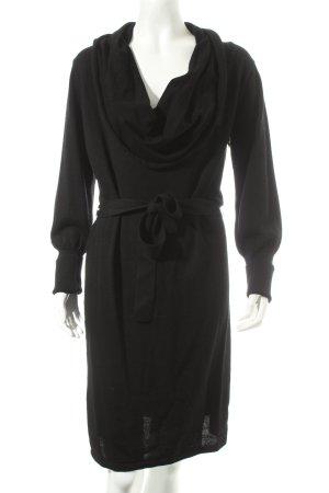 Kookai Strickkleid schwarz klassischer Stil