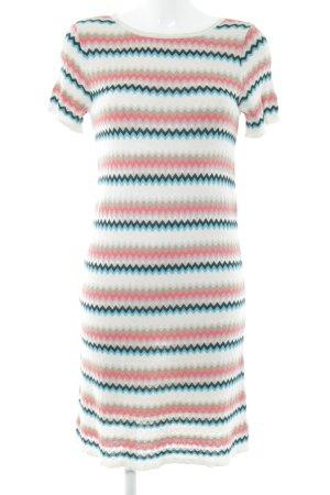 Kookai Vestido tejido estampado de zigzag estilo extravagante