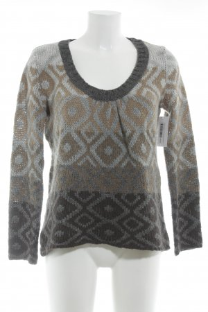 Kookai Knitted Sweater abstract pattern casual look