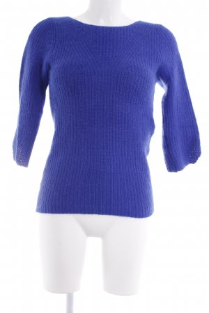 Kookai Strickpullover blau Casual-Look