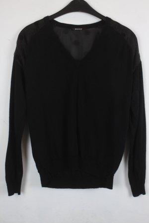 Kookai Strickpullover Gr. S schwarz transparente Schulter (18/9/022)
