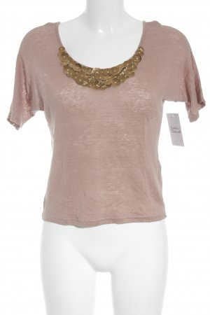 Kookai Knitted Jumper dusky pink-grey lilac extravagant style