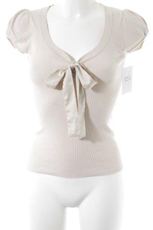 Kookai Knitted Jumper cream casual look