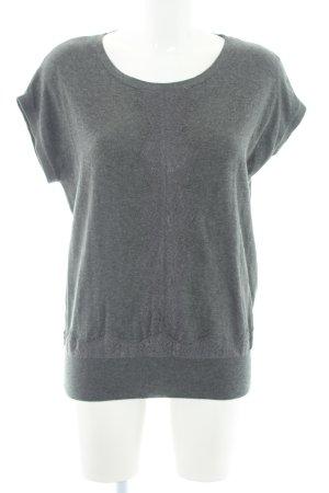 Kookai Camisa tejida gris estilo sencillo