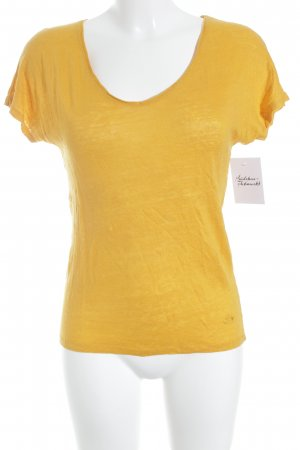 Kookai Knitted Jumper light orange classic style