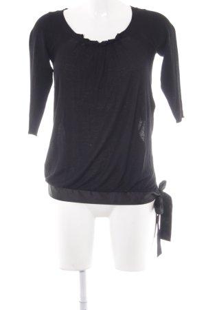 Kookai Strickshirt schwarz Elegant