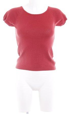 Kookai Strickshirt ziegelrot Casual-Look