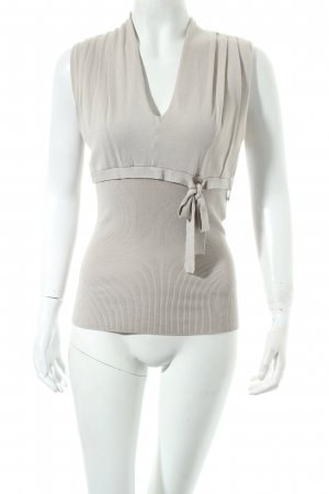 Kookai Stricktop beige Casual-Look