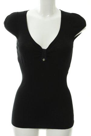 Kookai Knitted Top black casual look