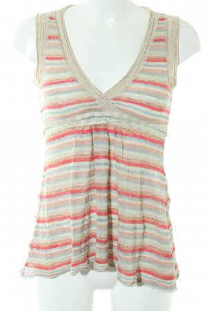 Kookai Knitted Top striped pattern romantic style
